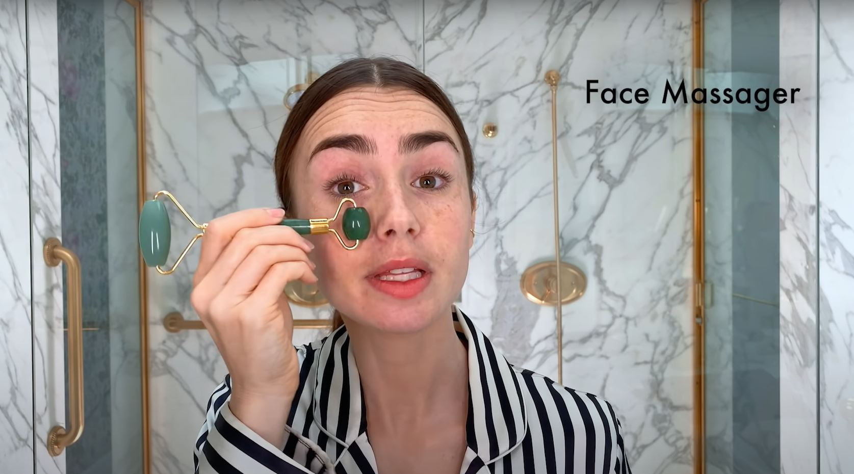 jade - Skincare Expert Reacts to Lily Collins Skincare Routine